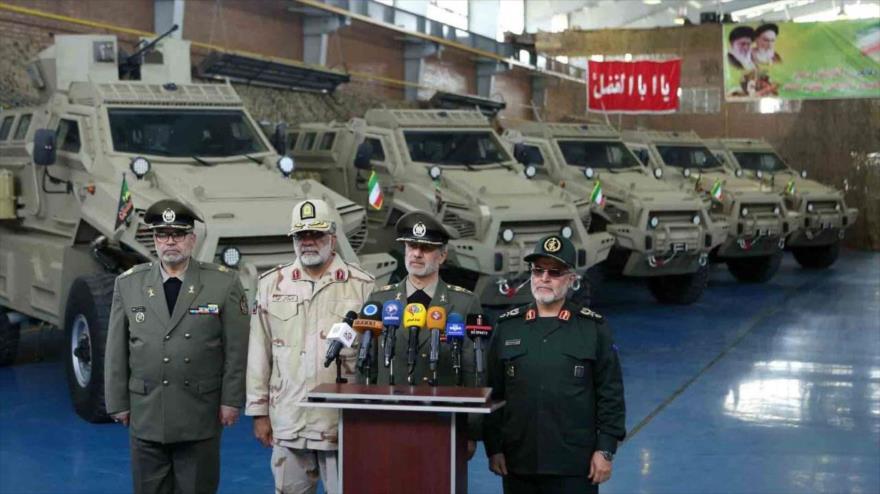 Vídeo: Irán presenta un nuevo vehículo blindado de fabricación nacional