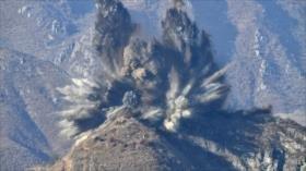 Corea del Norte detona diez puestos de guardia en la DMZ
