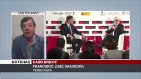 Saavedra: Gobierno de Sánchez carece de apoyo frente a Reino Unido