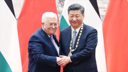 China apoya establecimiento de un Estado palestino independiente