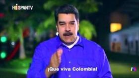 Maduro invita a colombianos a derrotar campaña de odio