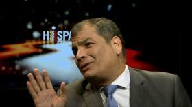 Interpol no emite difusión roja para capturar a Rafael Correa