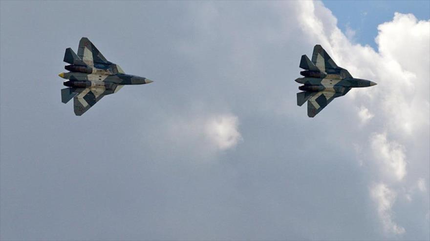 Ejército ruso prueba sus cazas furtivos Su-57 en combate en Siria