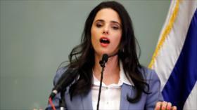 Ministra israelí tacha de 'pérdida de tiempo' plan de paz de EEUU