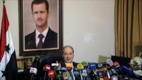 Siria acusa a potencias occidentales de fomentar ataques químicos