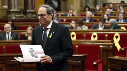Presidente catalán Torra critica 'devastada' Justicia de España