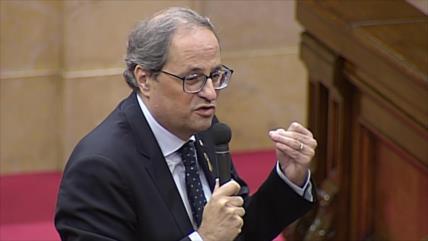 "Torra considera ""devastada"" la cúpula judicial española"