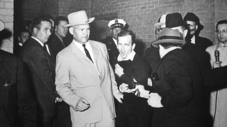 Fotos que sacuden al mundo: Ejecución del asesino de John F-Kennedy