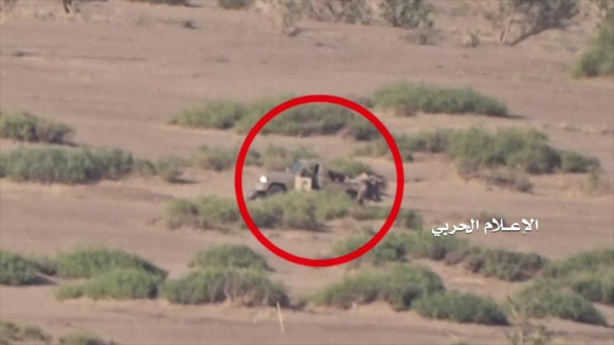 Vídeo: Ansarolá mata a mercenarios saudíes y destruye sus vehículos