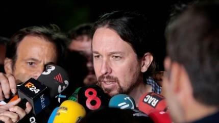 Iglesias sugiere 'una república' para preservar unidad española
