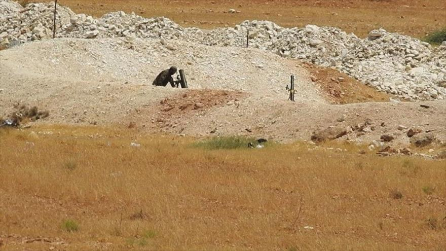 'Expertos franceses entran en Idlib para preparar ataque químico'