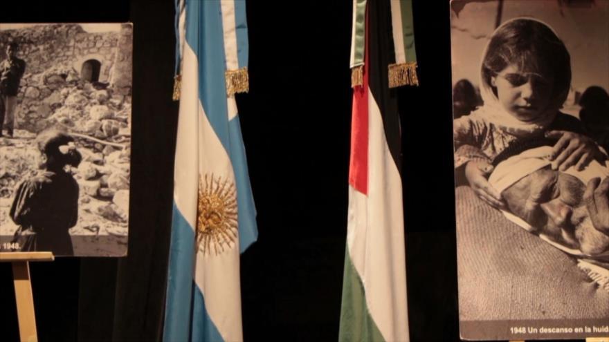 Realizan encuentro de reconocimiento a Palestina en Argentina