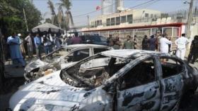Dos policías muertos en ataque contra consulado chino en Karachi