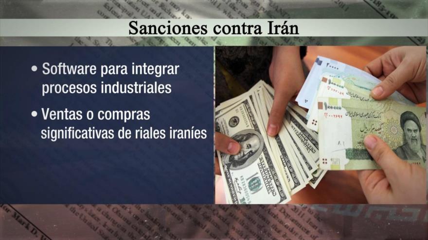 Irán Hoy: La reimposición de todas las sanciones de EEUU a Irán
