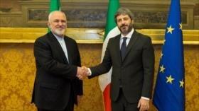 Irán: Intimidaciones de EEUU dañarán el sistema internacional