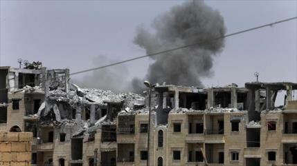 Bombardeos de la coalición de EEUU matan a 11 civiles en Siria