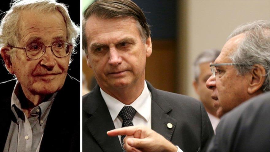 Chomsky vaticina un 'desastre' para Brasil con Bolsonaro | HISPANTV