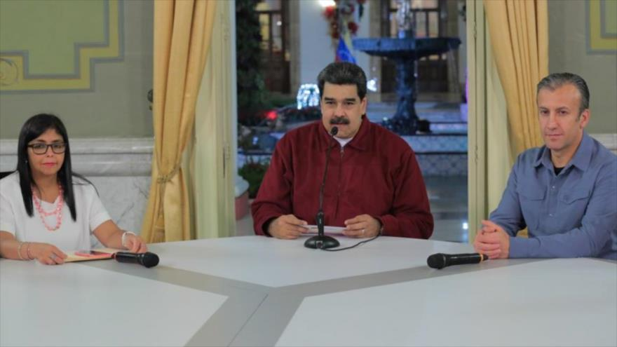 Maduro: EEUU busca sumir Venezuela en 'caos' en 2019