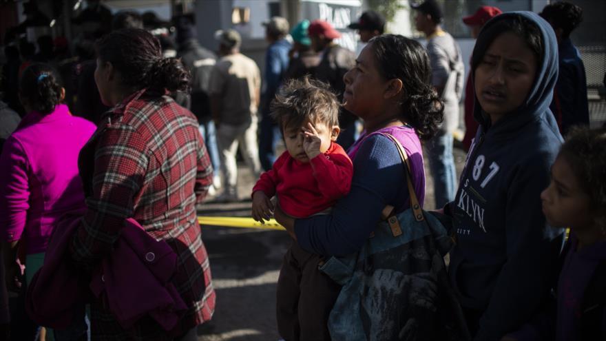 Enfermedades en la caravana migrante en su rumbo a EEUU