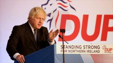 """Johnson pide designación de un ministro de Brexit """"sin acuerdo"""""""