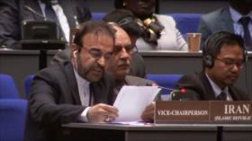 Irán niega por falsa la acusación de EEUU sobre armas químicas