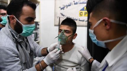 'Ataque terrorista con gas cloro en Alepo deja 50 civiles heridos'