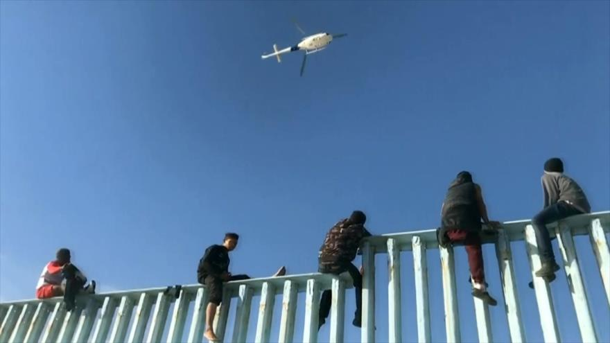 Trump amenaza con cerrar frontera mexicana y disparar a matar