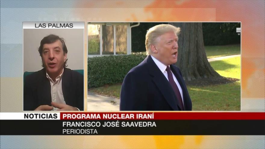 José Saavedra: EEUU recurre a acusaciones 'falsas' para presionar a Irán