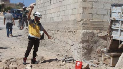 Rusia culpa a los cascos blancos por nuevo ataque químico en Siria