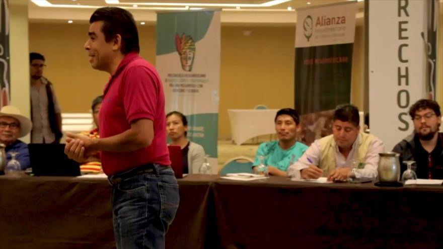 Pueblos mesoamericanos exponen su problemática regional en Panamá