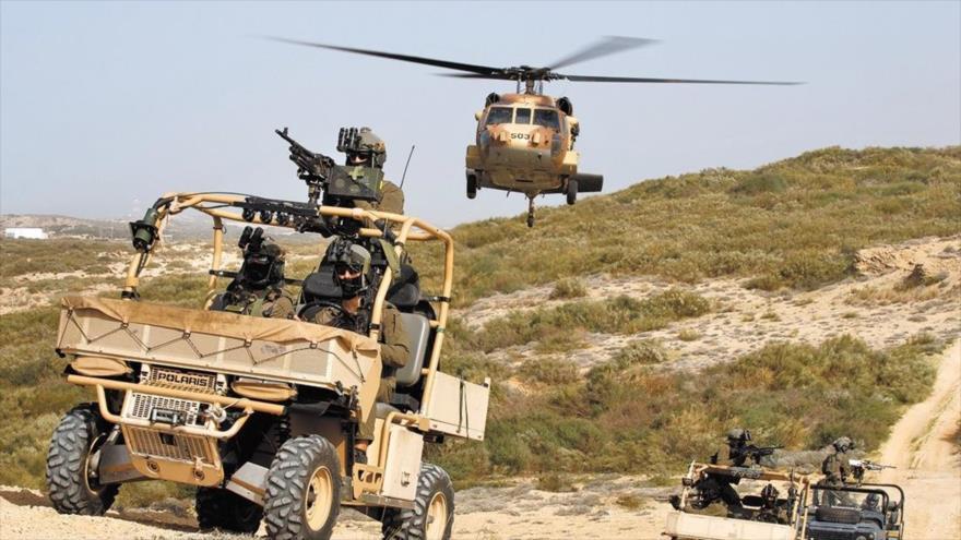 Comandos israelíes comienzan maniobras por temor a HAMAS y Hezbolá