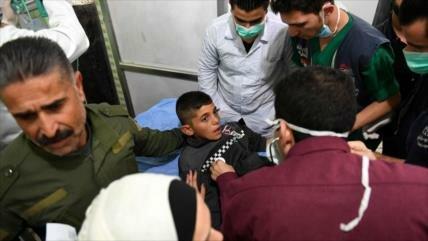 Aumenta a 107 número de afectados por ataque tóxico en Alepo