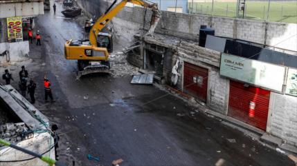 UE condena 'ilegal' demolición de tiendas por Israel en Al-Quds