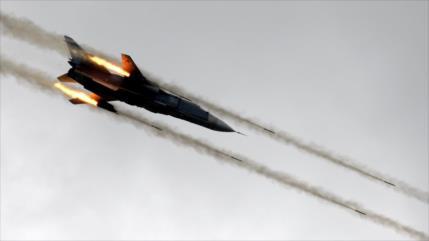 Rusia bombardea posiciones terroristas tras ataque químico en Siria