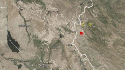 Un fuerte seísmo de 6,4 grados de magnitud sacude el oeste de Irán