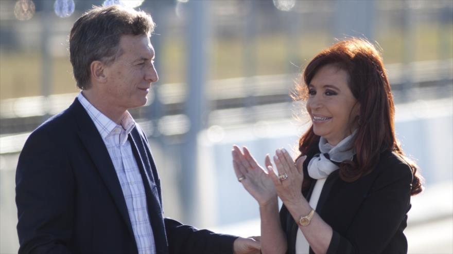 'CFK supera a Macri en intención de voto de cara a elecciones' | HISPANTV