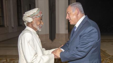 Activistas de BDS: Rey omaní violó la ley al recibir a Netanyahu