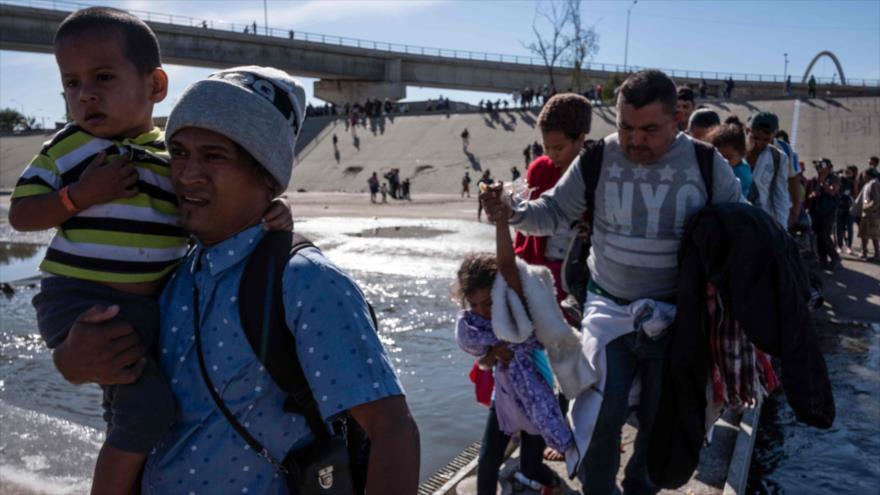 Honduras denuncia uso de violencia contra migrantes en frontera de EEUU