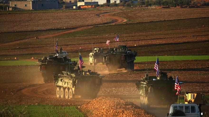 EEUU entrega 300 camiones con armas y misiles a milicias kurdas en Siria