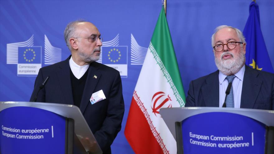 Irán llama a la UE a activar canal de pagos 'antes de que sea tarde'