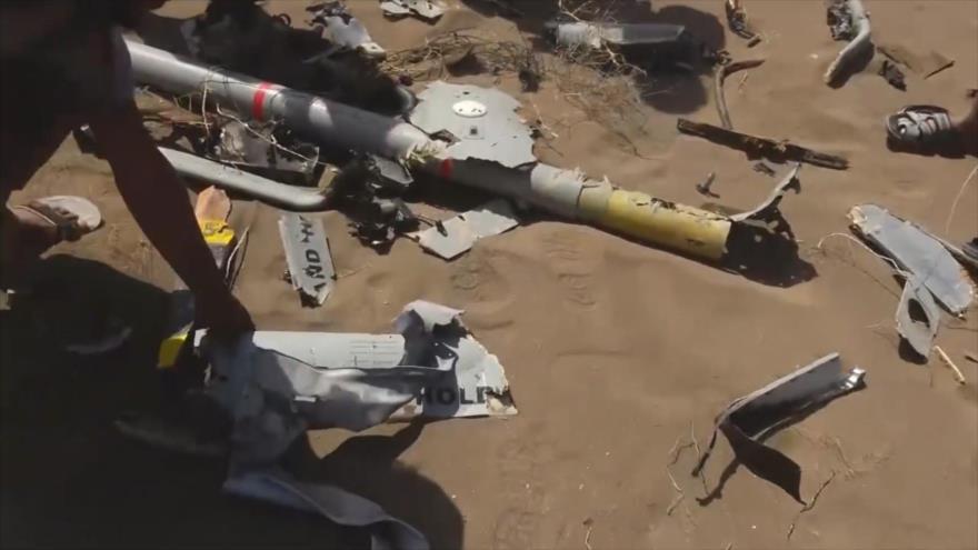 Vídeo: Ansarolá derriba dos drones saudíes en Al-Hudayda