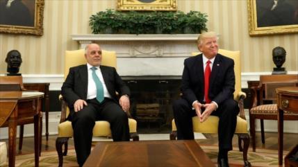 'Trump reclamó el crudo iraquí para recompensar gastos de guerra'