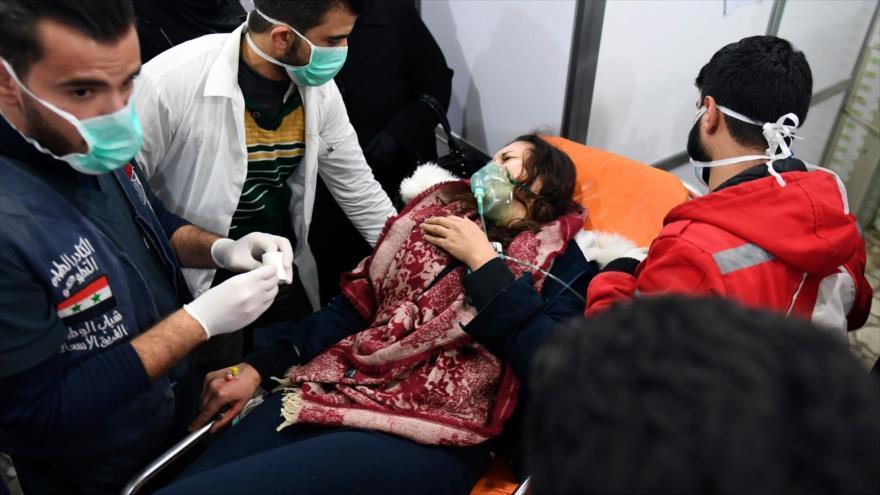 Doble rasero del Occidente sobre los ataques químicos en Siria