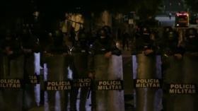 Nueva represión del Estado contra manifestantes en Honduras