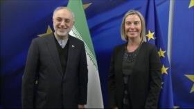 Irán y la UE están determinados a salvar el acuerdo nuclear