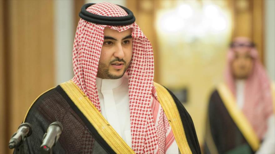 Hermano del príncipe heredero de Arabia Saudí y embajador saudí en EE.UU., Jalid bin Salman.