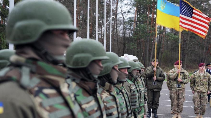 EEUU promete a Ucrania asistencia militar contra Rusia | HISPANTV
