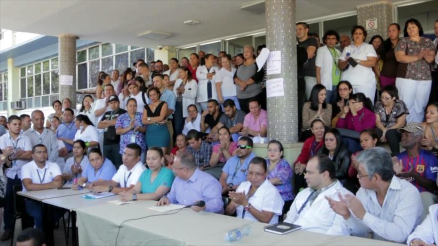 Médicos de Honduras en paro por falta de insumos en hospitales