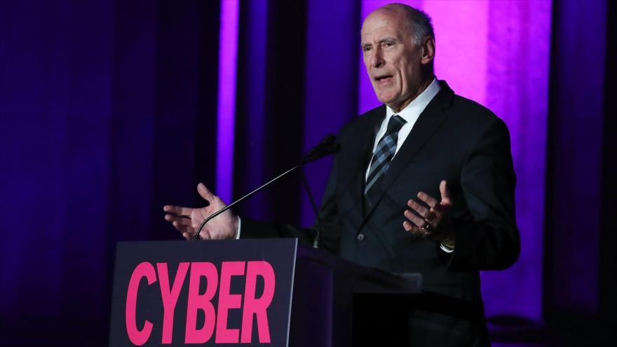 Director de Inteligencia Nacional de EE.UU., Dan Coats, en foro sobre seguridad cibernética en Washington D.C., EE.UU., 18 de octubre de 2018 (Foto: AFP)