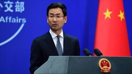 'China tiene una cooperación legal y abierta con Irán'